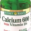 Кальций 600 с витамином D3 №60