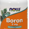 NOW  Нау Бор 520мг (BORON 3mg ) капсулы  №100