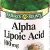 Альфа-липоевая кислота 100 мг капсулы  №60