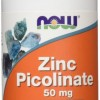NOW Нау Цинка пиколинат (ZINC PICOLINATE 50mg ) капсулы  №120