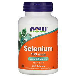 NOW Нау Селениум 518мг  (SELENIUM) таблетки  №100