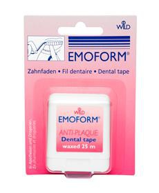 ЭМОФОРМ вощеная зубная нить  25 м