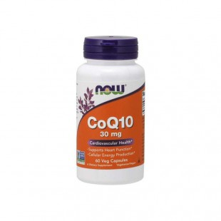 NOW Нау CoQ10 30мг (CoQ10 30mg ) капсулы  №60