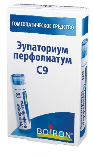 Эупаториум перфолиатум гомеопатические C9 гранулы  4 г