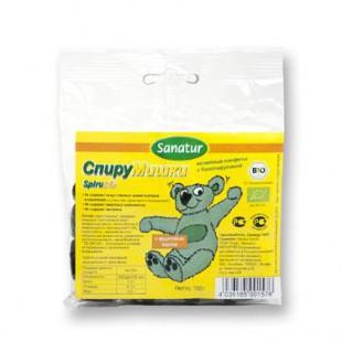 Желейные конфеты «СПИРУМИШКИ» с биоспирулиной, уп. 100 г
