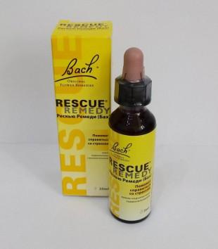 Рескью ремеди, (Rescue remedy), капли  20 мл.,