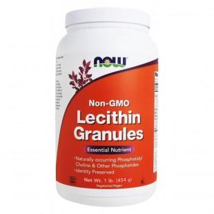NOW  Нау Лецитин гранулированный 454г (LECITHIN GRAN 1 LB) гранулы