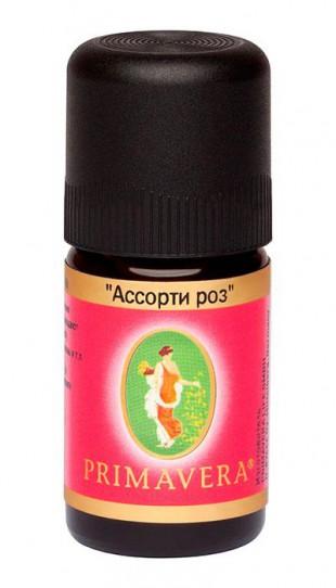 Примавера Лайф Ароматизатор воздуха - смесь эфирных масел «АССОРТИ РОЗ», масло  5 мл