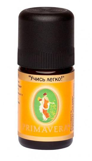 Примавера Лайф Ароматизатор воздуха - смесь эфирных масел «УЧИСЬ ЛЕГКО!», масло  5 мл