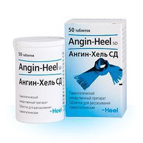 Ангин-хель СД, таблетки для рассасывания №50