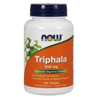 NOW Нау Трифала 500мг (TRIPHALA 500MG ) таблетки  №120