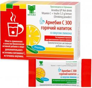 АРНЕБИЯ С 300 горячий напиток со вкусом лимона порошок  5 г №10