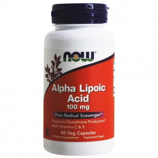 NOW Нау  Альфа-липоевая кислота (ALPHA LIPOIC ACID 250mg ) капсулы  №60