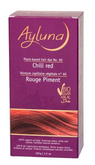 АИЛУНА Краска для волос №60 «КРАСНЫЙ ЧИЛИ» растительная, краска  100 г