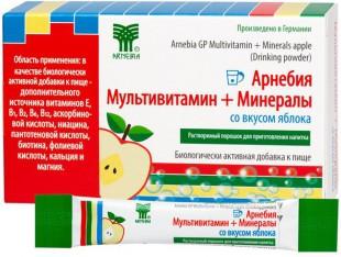 АРНЕБИЯ МУЛЬТИВИТАМИН + МИНЕРАЛЫ со вкусом яблока порошок  5 г №10