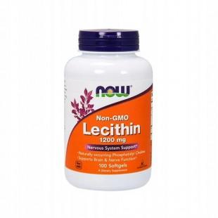 NOW Лецитин тройная сила 1200мг (LECITHIN 1200mg ) капсулы  №100