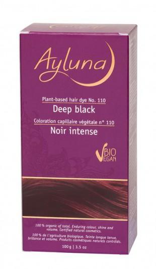 АИЛУНА Краска для волос №110 «ИССИНЯ-ЧЁРНЫЙ» растительная, краска  100 г