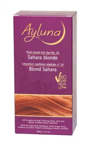 АИЛУНА Краска для волос №25 «ПЕСОЧНЫЙ БЛОНДИН» растительная, краска  100 г