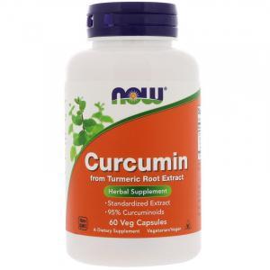 NOW Нау Куркумин  (CURCUMIN EXTRACT 95% 665MG ) капсулы  №60