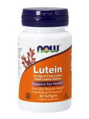 NOW Нау Лютеин Эстерс 190мг (LUTEIN 10 MG (FROM ESTERS) капсулы  №60
