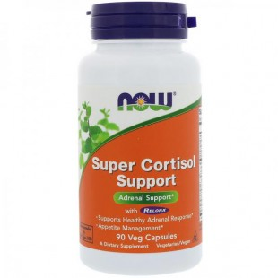 NOW Нау Супер Саппорт 645мг (SUPER CORTISOL SUPPORT) капсулы  №90